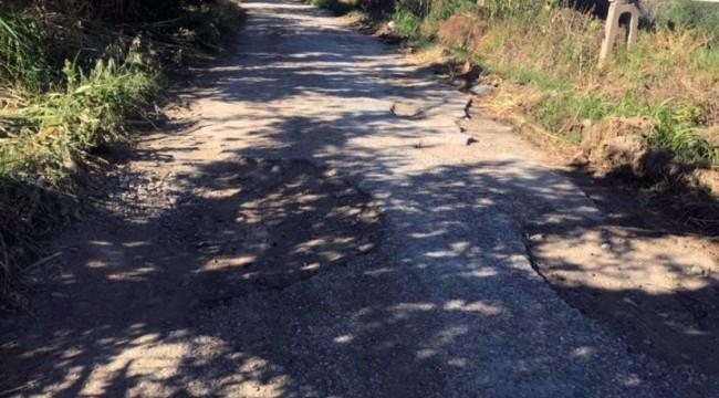 Ova yolları onarılmayı bekliyor