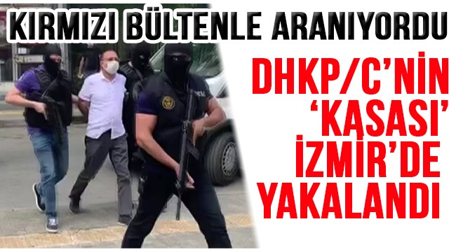 """Terör örgütü DHKP/C'nin """"kasası"""" olduğu belirtilen M.S.D, İzmir'de yakalandı"""