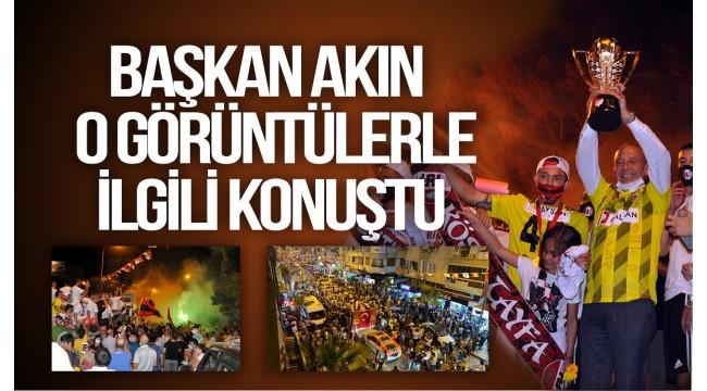 Turgutlu Belediye Başkanı Akın sosyal mesafe eleştirilerine yanıt verdi