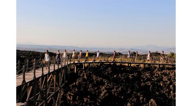 Manisa'daki jeopark defileye ev sahipliği yaptı