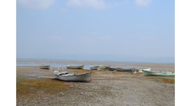 Marmara Gölü kuraklık tehdidi altında