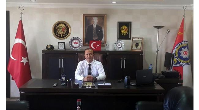 Turgutlu'nun yeni emniyet müdürü Harun Tutak göreve başladı