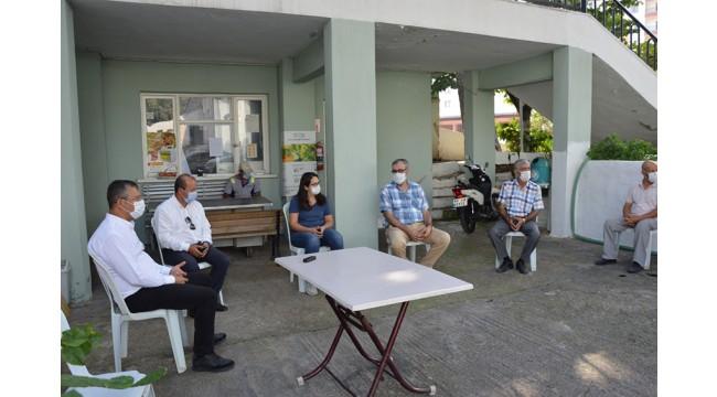CHP'den Tariş'in Manisa'daki üzüm deposu projesine destek
