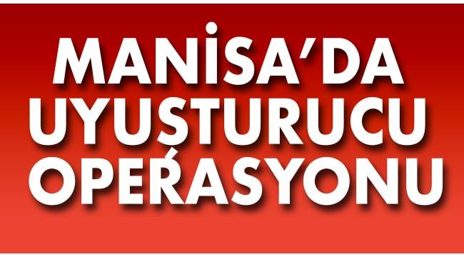 Manisa'da 1 kilo 160 gram esrar ele geçirildi