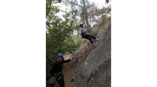 Gençlik Merkezinden dağcılık ve doğa sporları