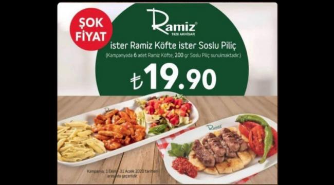 Köfteci Ramiz Turgutlu'da şok fiyat