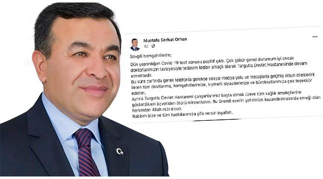 Serhat Orhan'dan sağlık durumu ile ilgili açıklama