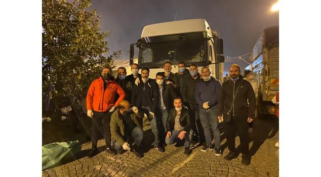 Turgutlulu gençlerden İzmir'e yardım eli