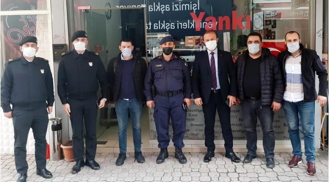 Emniyet Müdürü Tutak ve Jandarma Komutanı Karaer'den Yankı'ya ziyaret