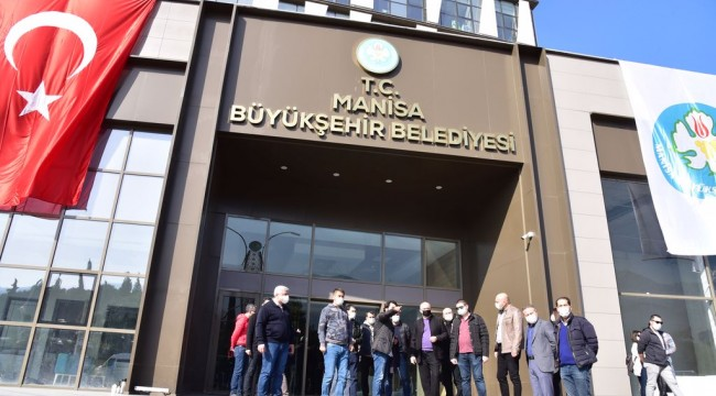 Başkan Ergün, Manisa'nın Simge Projesini İnceledi