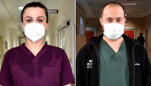 'Genç hastaların bir nefese muhtaç şekilde hastaneye geldiğini gördüm'
