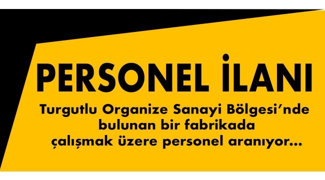 Personel ilanı