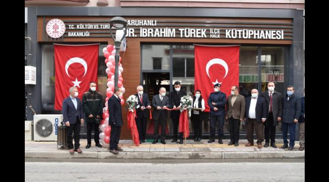 4. Dr. İbrahim Türek Okuma Ödülleri Kütüphane Haftasında Gerçekleştirilecek