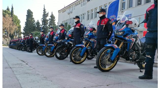 Jandarma motosiklet kazalarını önlemek özel ekip oluşturdu