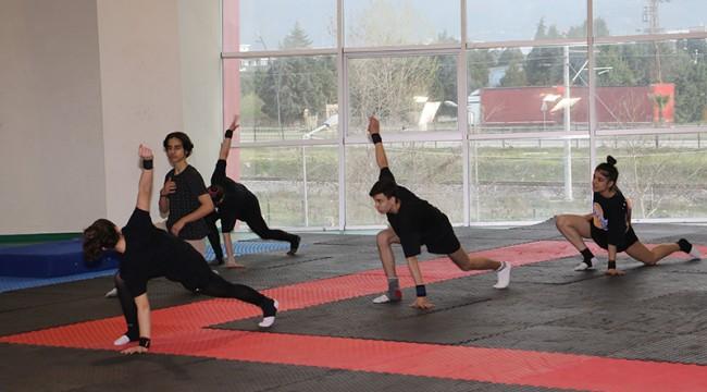 Cimnastikçiler Türkiye Şampiyonasına Hazır