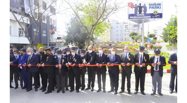 Gaziler Parkı açıldı