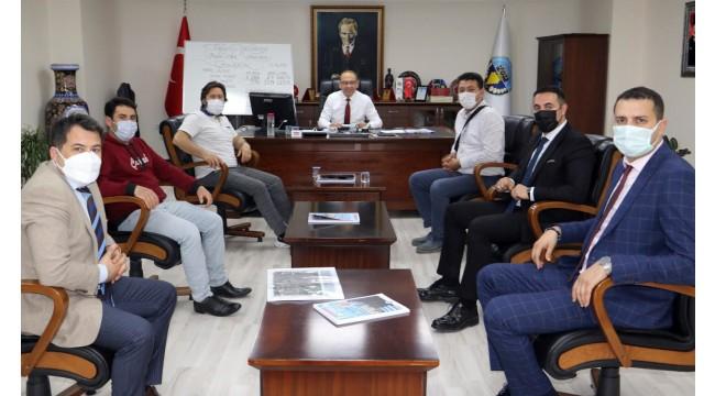 Büyükşehir'den Başkan Akın'a ziyaret