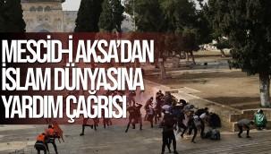 Mescid-i Aksa'dan İslam dünyasına yardım çağrısı