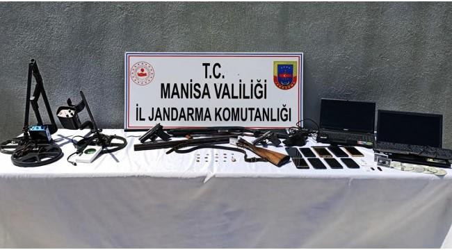 'Tarihi eser' operasyonunda 7 tutuklama