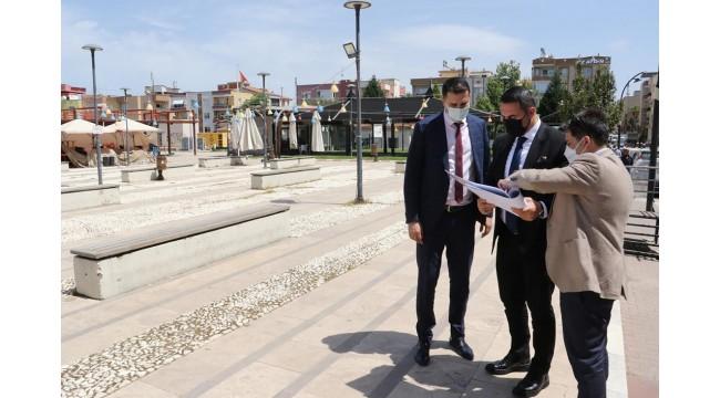 Turgutlu'da yatırımların yapılacağı alanlar incelendi