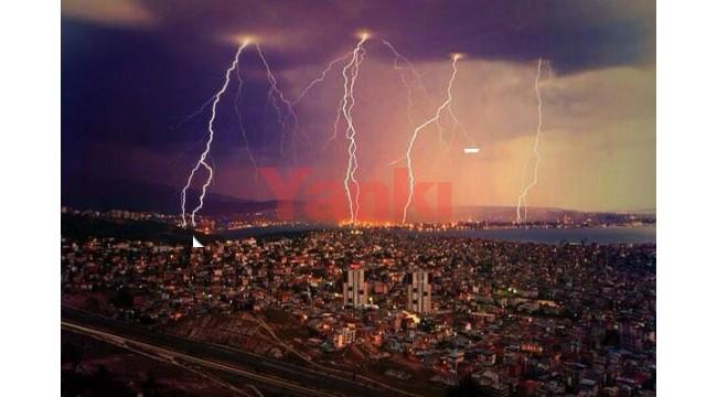 Manisa ve ilçelerinde yerel ve kısa süreli gök gürültülü sağanak yağışa dikkat!