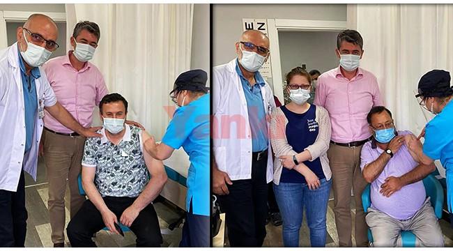 Turgutlu'da ASM'lerde Biontech aşısı uygulaması başladı