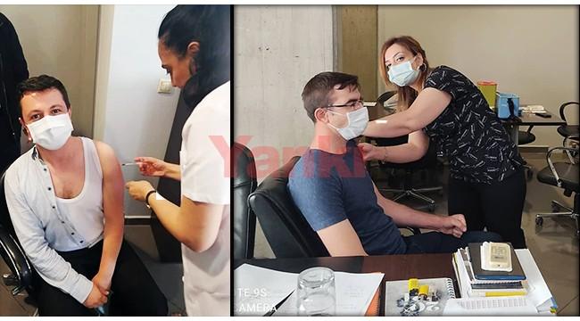 Turgutlu OSB'deki çalışanlara aşı uygulaması başladı