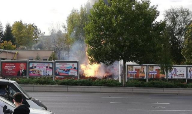 Ankara'da patlama sesleri