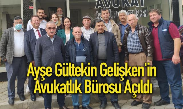 Ayşe Gültekin Gelişken'in Avukatlık Bürosu Açıldı