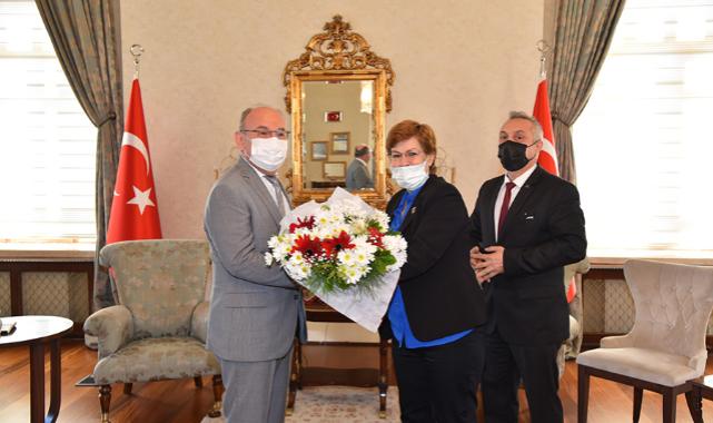 MHP İl Başkanlığı Yönetiminden Vali Karadeniz'e Ziyaret