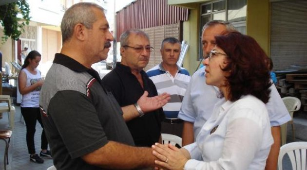 CHP'li vekilden acılı aileye ziyaret