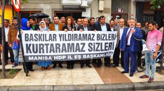 HDP'den Manisa'daki tutuklamalara tepki