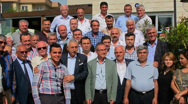 Palandöken Turgutlu'da oda başkanlarıyla biraraya geldi