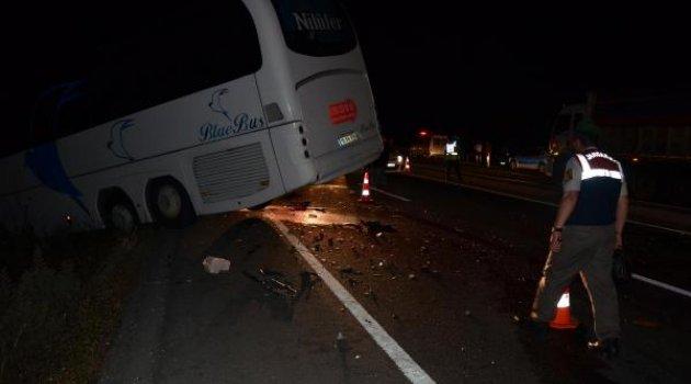 Zincirleme kaza: 13 yaralı