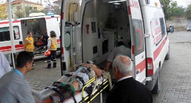 Otomobil uçuruma yuvarlandı;5 kişi yaralandı