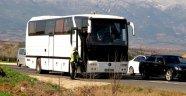 Polis biletsiz Altaylı taraftarları geri gönderdi