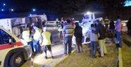 Turgutlu'da kaza: 1 ölü, 26 yaralı